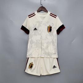 Camiseta Belgium Euro 2ª Equipación 2020 Niño