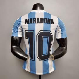 Player version Maradona #10 Argentina 1986