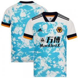 Camiseta Wolverhampton Wanderers Segunda Equipación 2020-2021