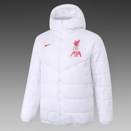 Chaquetas De Plumas De Liverpool FC 2020/2021 Blanco
