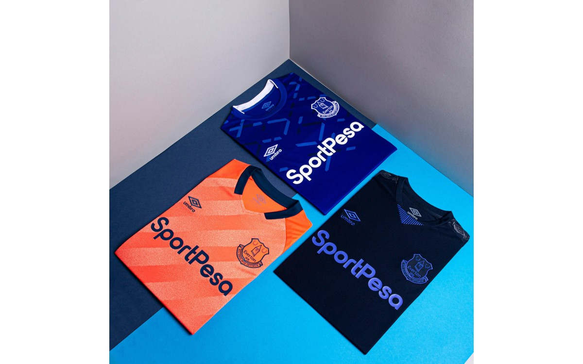 Everton 2019-20 segunda temporada camiseta visitante