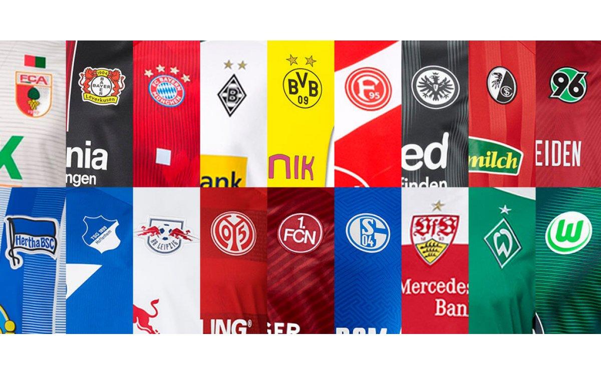 Bundesliga 2018-19 Kits