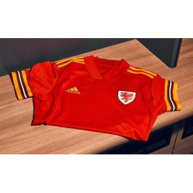 Camiseta de fútbol Gales 1ª equipación Euro 2020