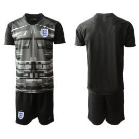 Camiseta Inglaterra Portero En Negro 2020 Edición Copa De Europa