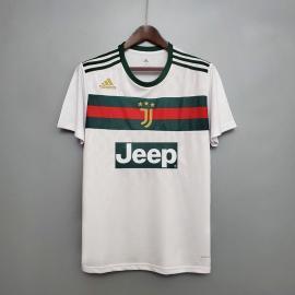 Camiseta 20/21 Juventus GG edición conjunta blanca