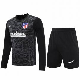 Camiseta 20/21 Portero Atlético De Madrid Manga Larga Negro