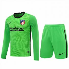 Camiseta 20/21 Portero Verde Manga Larga Atlético de Madrid