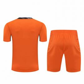 Camiseta 20/21 Real Madrid Portero Naranja