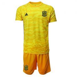 Camiseta España Portero en Amarilla 2020 Edición Copa De Europa