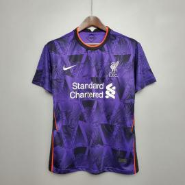 Camiseta Liverpool 2020/2021 Morado