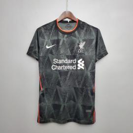 Camiseta Liverpool 2020/2021 Negra