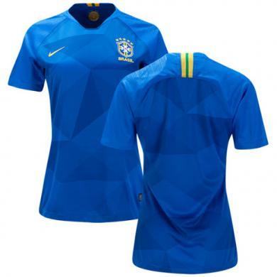Camiseta Brasil 2ª Equipación 2018 Mujer