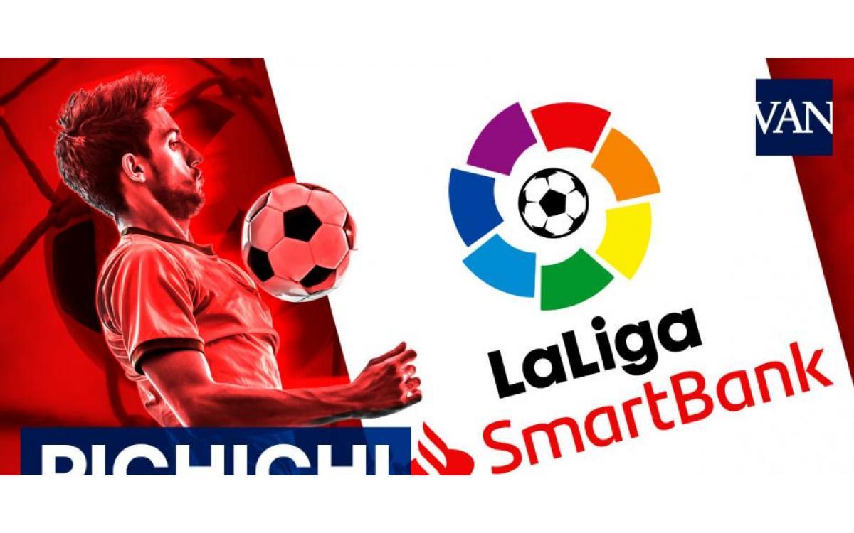 LaLiga SmartBank 2020-2021: pichichi y máximo asistente tras la Jornada 32