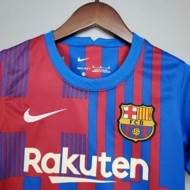 Camiseta Barcelona 1ª Equipación 2021/2022 Niño