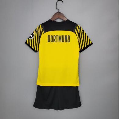 Camiseta Borussia Dortmund 1ª Equipación 2021/2022 Niño