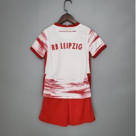 Camiseta Fc RB Leipzig Primera Equipación 2021-2022 Niño
