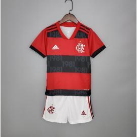 Camiseta Flamengo Primera Equipación 2021/2022 Niño