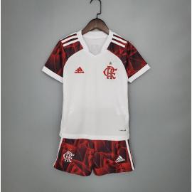 Camiseta Flamengo Segunda Equipación 2021/2022 Niño