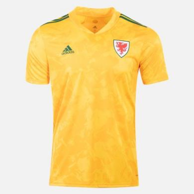 Camiseta Gales Segunda Equipación 2020-2021