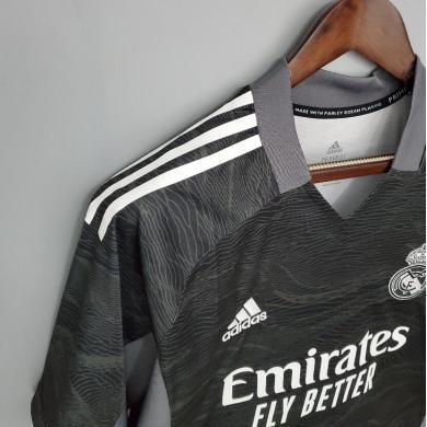 Camiseta Real Madrid Portero 2021/2022 Negra