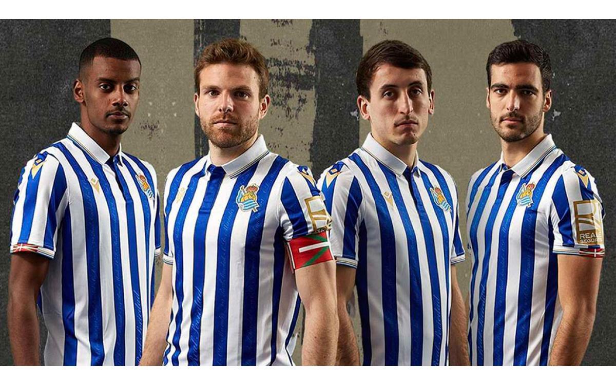 Así es la camiseta con la que la Real Sociedad jugará la final de Copa del Rey
