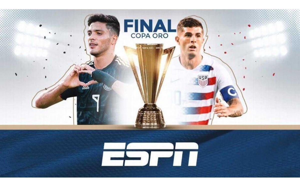 Selección Mexicana domina a Estados Unidos en finales de Copa Oro