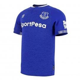 Camiseta Umbro Everton 1a 2018 2019