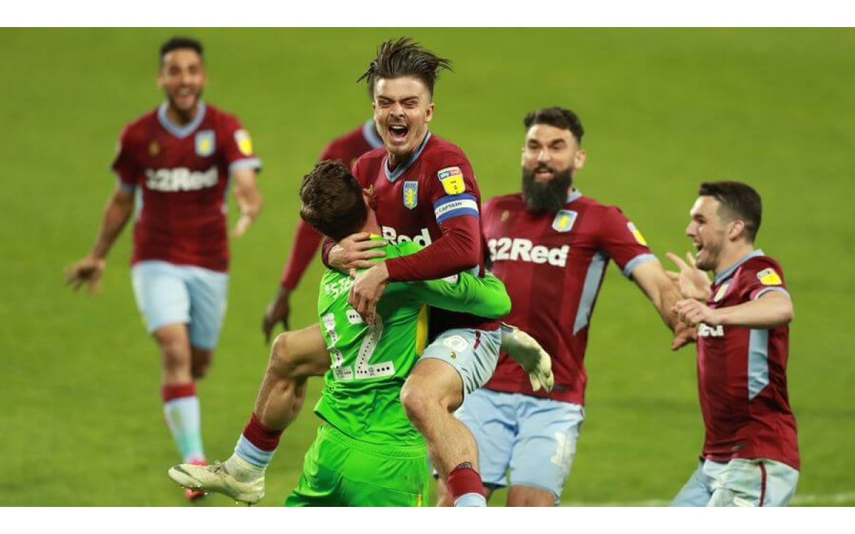 West Brom 1-0 Aston Villa (2-2): Dean Smith's side through to play-off final after victory on penalt