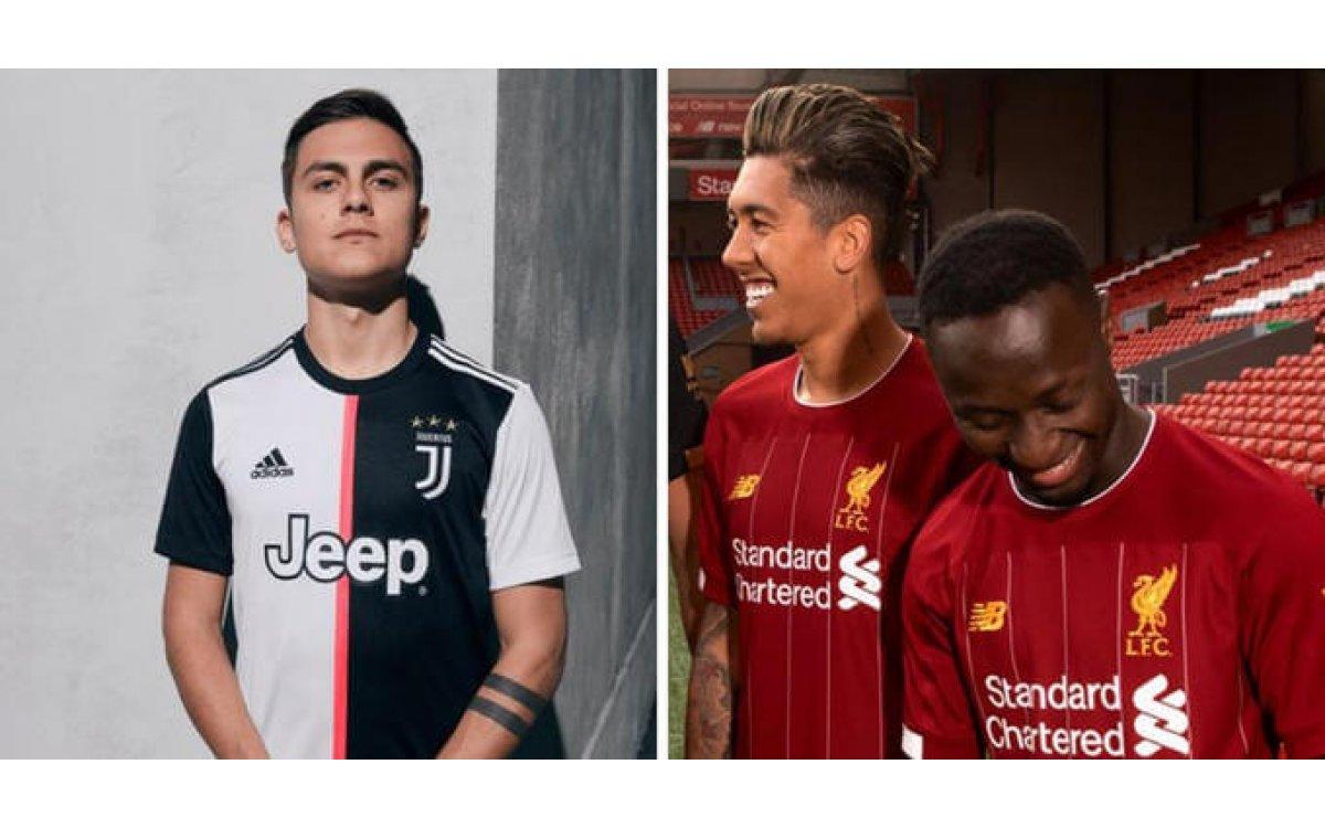 Así serán las camisetas de todos los equipos para la 2019/20