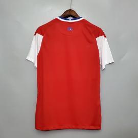 Camiseta Chile Euro Primera Equipación 2020/2021 Niño