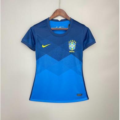 Camiseta Brasil Segunda Equipación Mujer 2020 2021