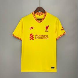 Camiseta Liverpool Tercera Equipación 2021/2022