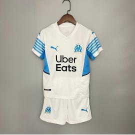 Camiseta Olympique Marsella Primera Equipación 2021 2022 Nino