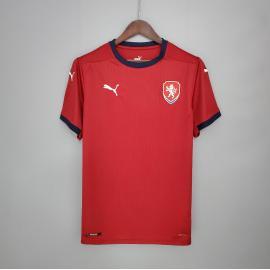 Camiseta República Checa Primera Equipación 2021/2022