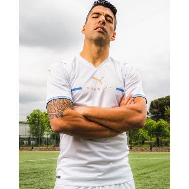 Camiseta Uruguay Segunda Equipación 2021-2022