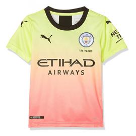 Camiseta 3a Equipación Manchester City 19-20 Niños