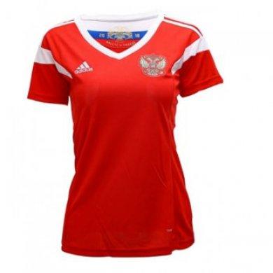 Camiseta Rusia 1ª Equipación 2018 Mujer