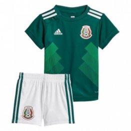 Camiseta México 1ª Equipación 2018 Niños