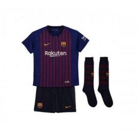Camiseta 1a Equipación 2018 Barcelona Niños Kit