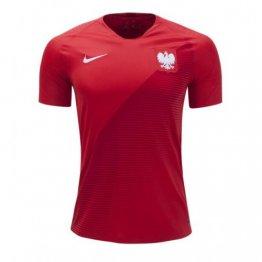 Camiseta 2a Equipación Polonia 2018