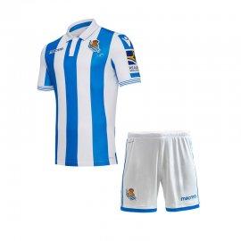 Maglia Real Sociedad Home 2018/2019 Bambinos Kits