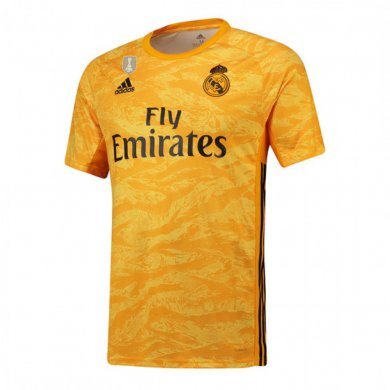 Camiseta De Portero Real Madrid 2019/2020 Amarillo