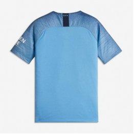 Camiseta 1a Equipación Manchester City 18-19 Niños