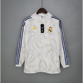 Windbreaker 2021-2022 Real Madrid White