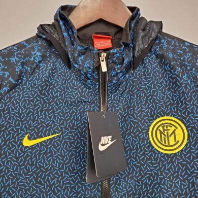 Cortavientos 21/22 Inter Milan Azul Camuflaje