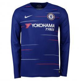 Camiseta Stadium de la equipación local del Chelsea 2018-19 de manga larga