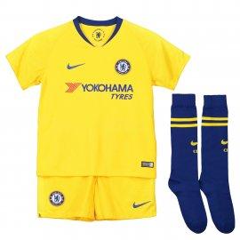 Equipación visitante Stadium del Chelsea 2018-19 para niños pequeños