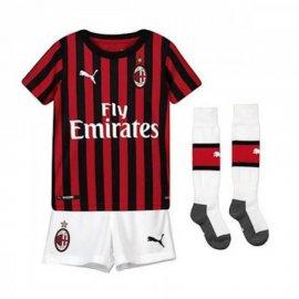 Camiseta AC Milan 1ª Equipación 2019/2020 Niño Kit