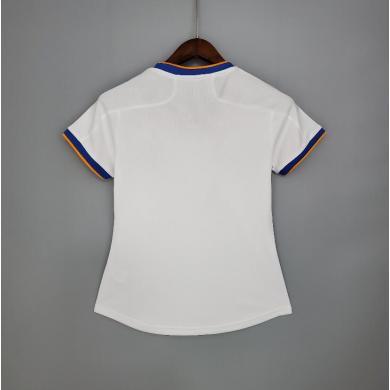 Camiseta Real Madrid Hombre Primera Equipación Blanca Mujer