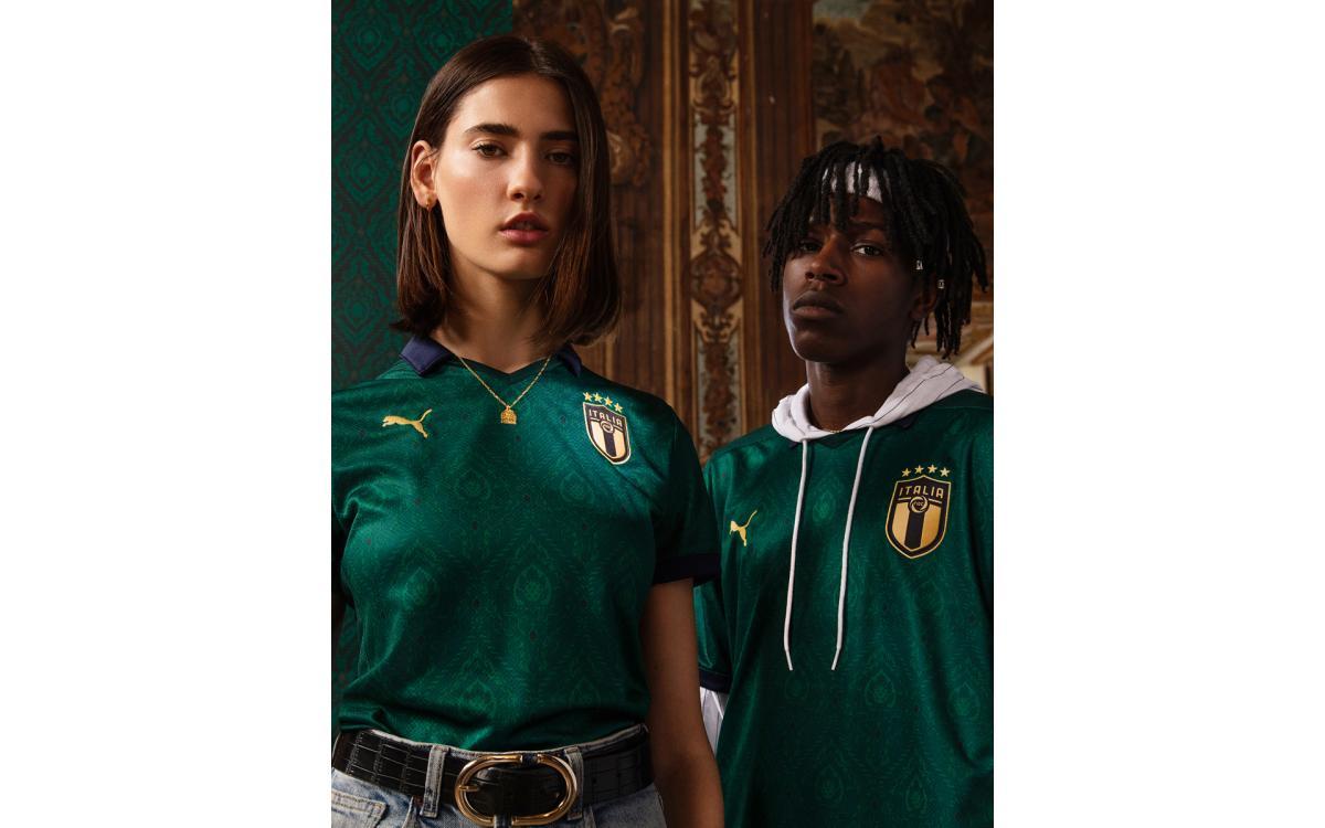 Selección de Italia segunda temporada 2019-20 segunda camiseta visitante